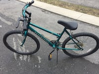teal and black mountain bike Toronto, M2K 1E1