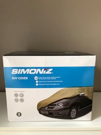 SUV car cover (Simoniz Canadian Tire)