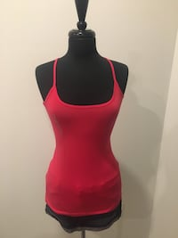 Brand new red tank size M