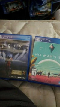 two Sony PS4 game cases Waterloo