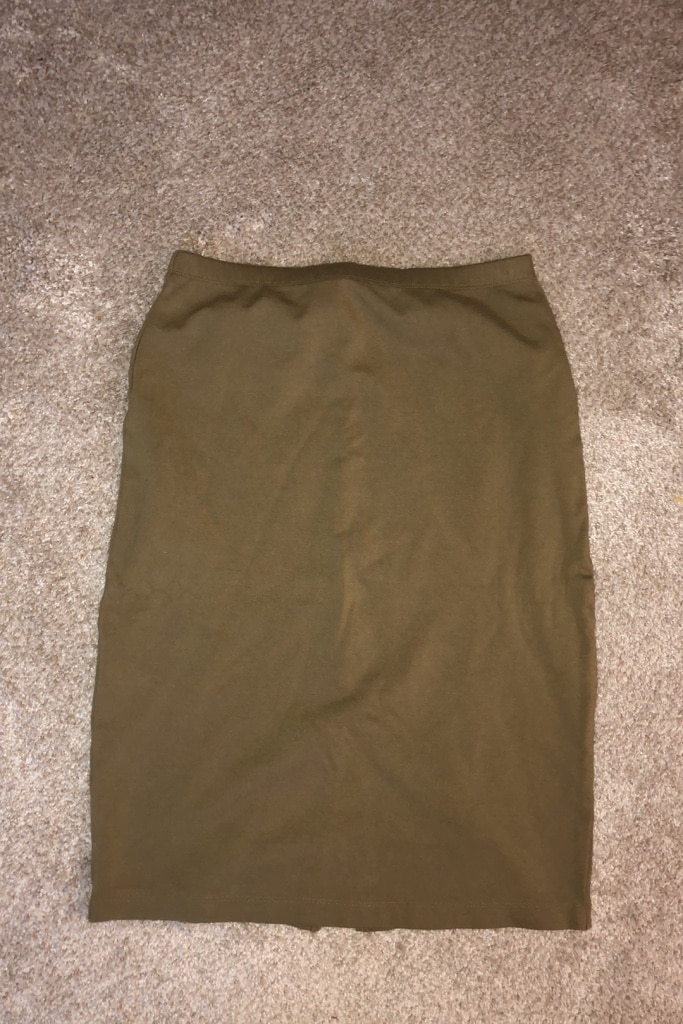 Photo Olive Green Skirt by Forever 21