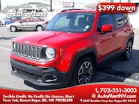 2015 Jeep Renegade for sale Las Vegas