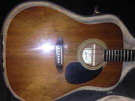 Beautiful Montana m18-w serous acoustic guitar