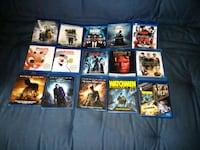assorted Blu-rays, DVDs, ps3 games Essex, 05452