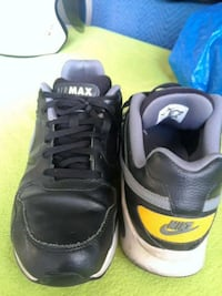 Nike Air Max black leather and grey size 11 Anaheim, 92802