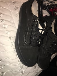 Black vans size 8 men's Houston, 77029