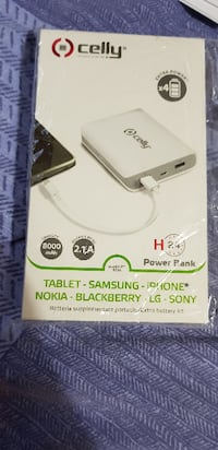 POWER BANK 8000 mAh CELLY nuovo  San Benedetto del Tronto, 63074
