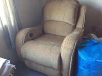Recliner (Semi new) with protection plan Revere, 02151