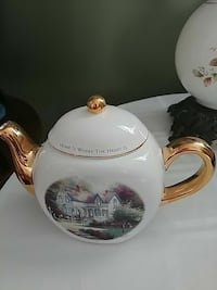 Thomas Kinkade Teleflora Tea Pot Saint Thomas, N5R 2Z2