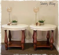 SHABBY BLING ACCENT TABLES Whitby, L1R