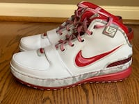"""Lebron 6 """"Ohio State"""" - size 10 Bunker Hill, 25413"""