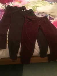 Size 26 W girl's burgundy jeans H&M and Brody Victoria, V9A 3Z7