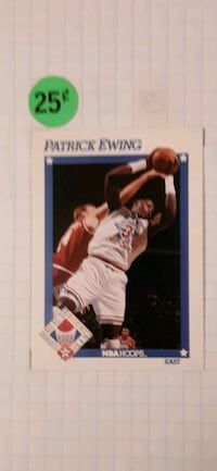 91' Hoops All-Star Patrick Ewing #251 Cherry Hill, 08034
