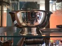Silver serving bowl.  Bakersfield, 93306