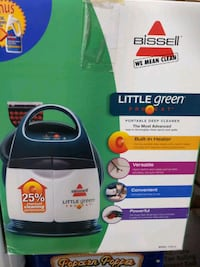 Bissell little green proheat deep surface cleaner Chantilly, 20152