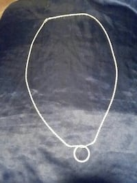 silver-colored necklace with pendant Lanham, 20706