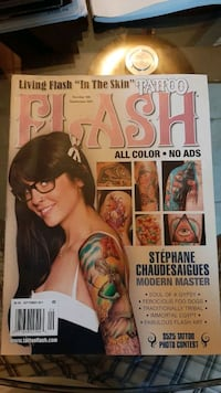 Tattoo Flash Magazine sep 2011