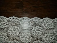 Lace window curtain panel 60w x 54h.  I also used as a table cloth Mooresville, 28117