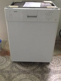 White Dishwasher Bosch stainless steel Silver Spring, 20905