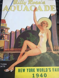 1940 New York world's fair Billy Rose Aquacade magazine Hagerstown, 21740