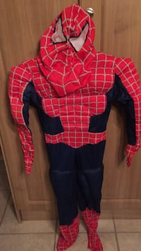 Spider-Man 3 Costume size 7-8 Vaughan, L6A 1E8