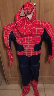 Spider-Man 3 Costume size 7-8