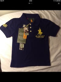 T-shirt polo color blu Ralph Lauren per 4 anni Modena, 41125