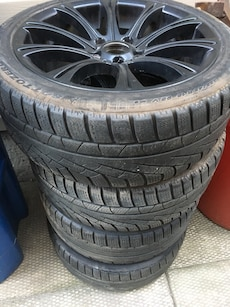 BMW 18x8 wheels for sale