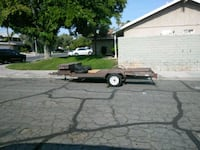 Flat bed trailer.  Locking tool box +extras North Las Vegas, 89031