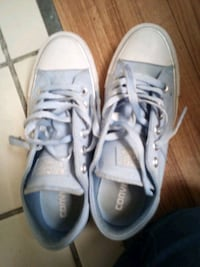 pair of white low-top sneakers Whiteville, 28472