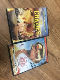 DVDs ($6for both)