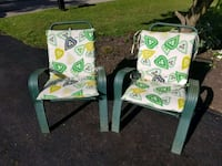 green and white floral print chair Pataskala, 43062
