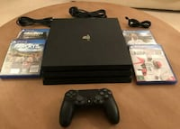 PS4 Pro 1tb, Additional Controller, 7 games New South Wales