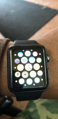 Black apple watch with black sports band Elmwood Park, 07407
