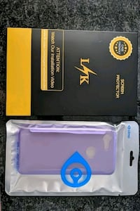 Purple pixel 3 case and screen protector Chicago, 60646