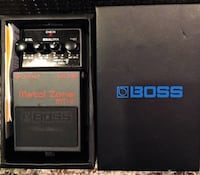 Boss Metal Zone MT-2 effects pedal in box Windham