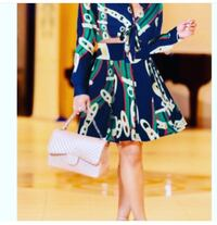 women's blue and green floral dress North Miami, 33161