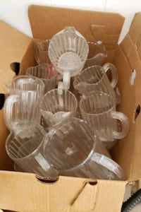 Plastic jugs - small and large Calgary