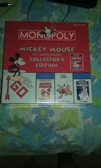 Monopoly Mickey mouse 75th anniversary collectors  Homeland, 92548