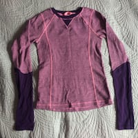 Purple and pink long sleeve shirt Calgary
