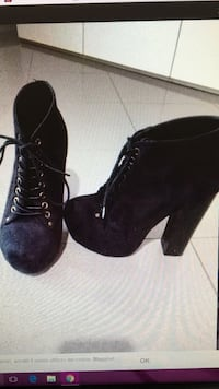 Simil jeffrey campbell nere scamosciate n 37  Castellana Grotte, 70013