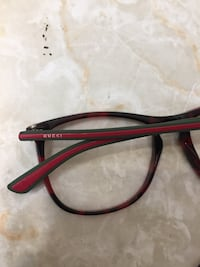 black and red framed eyeglasses Toronto, M1K 5E2