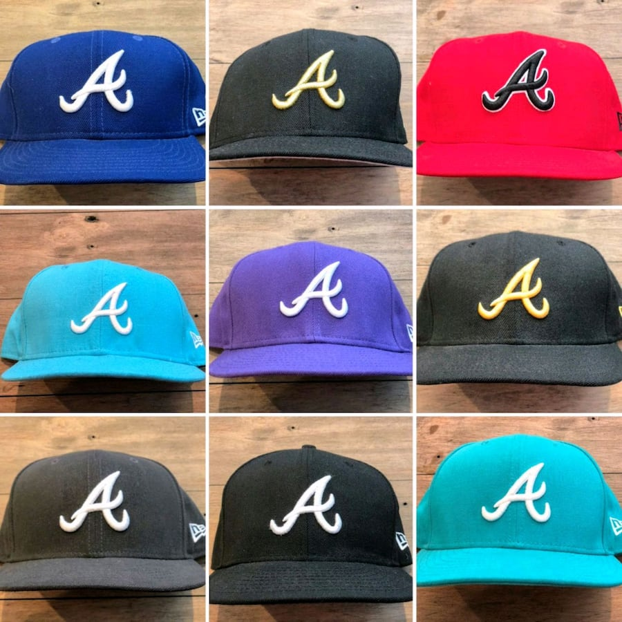 New Era 5950 Atlanta Braves Hats