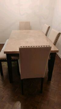 Real Marble Table Set Toronto, M3A 3A8