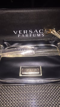 Versace Beauty Bag with crossbody strap and dust bag  Vancouver, V6J 5C5