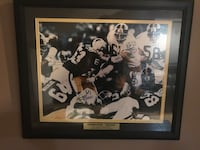 Steel Curtain signed by Greene White Holmes and Greenwood with COA Virginia Beach, 23454