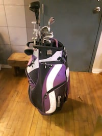 Golf bag with clubs St. Catharines, L2R 3G7