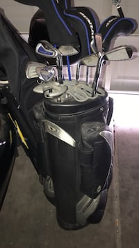 Eos sports golf bag with full set of Dunlop golf clubs Las Vegas, 89129