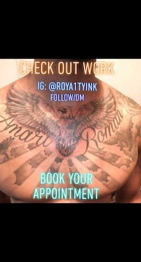 Book your Appointment 2 get a tattoo