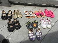 Little two year old girl shoes - size 7 and sorry 6.5 Silver Spring, 20910